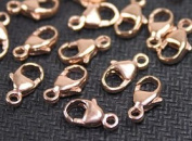 14K Rose Gold Filled Oval Trigger Clasp