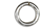 Sterling Silver Round Jump Ring .036 inch X 6mm