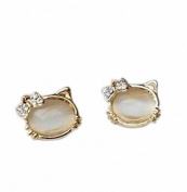 U-Beauty Lady's Fashionable Lovely Hello Kitty Jewellery Earrings