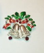 Avon Holiday Pin Sleigh Bells