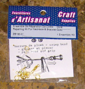 Repair Kit for Necklace & Bracelet Gold Colour Arts & Crafts