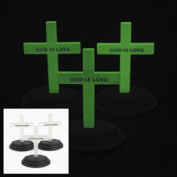12 Glow-In-The-Dark Crosses