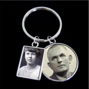 Instant Double Sided Twin Memories Photo Keychain Kit