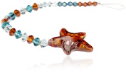 CREATE YOUR STYLE with. ELEMENTS Starfish Pendant Strand, Red Magma
