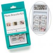 Crystal Innovations Photo Bracelet Kit Heart Rose. Crystal