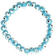 Evil Eye Bracelet - Light Blue