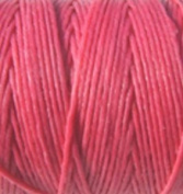 Waxed Irish Linen-Fuchsia. Sold per 10 yards of 4-ply
