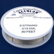 Acculon Tigertail Beading Wire Medium 3 Strand .015 30ft