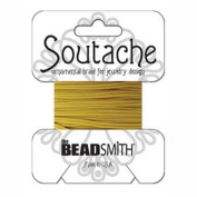 Beadsmith Soutache Braided Cord 3mm Wide - Cadmium Yellow