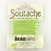 Beadsmith Soutache Braided Cord 3mm Wide - Green