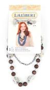 EK Success Brands Laliberi Swag Scarf Accessory, Chain and Bead Strand