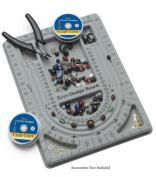 Darice 3-Channel Flocked Bead Board