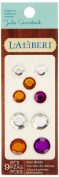 Laliberi Julie Comstock Gemstone Brads, Assorted Light
