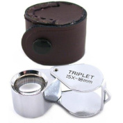 Ade Advanced Optics® 15x Triplet Gem Magnifier 15x18 Jeweller Loupe Tool