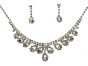 SC Bridal Crystal Necklace Set N1D25