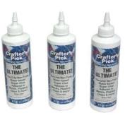 3 Bottles of Bead Arts & Craft Scrapbook Glue