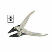 """Forca RTGS-285-N160 Jeweller's Parallel Action Flat Nose Pliers - 4mm Narrow Taper Jaws - 160mm / 6.5"""""""