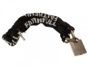Faithfull 1 Metre Heavy-Duty Chain & Padlock