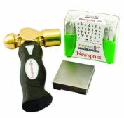ImpressArt Metal Stamping Kit- Newsprint Lowercase