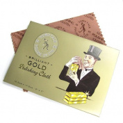 1 pc Town Talk Gold Polishing Cloth 125mm x 175mm / Findings