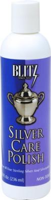 Blitz 618 2-Pack Silver Care Polish, 8 Fluid Ounce