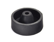 """2"""" Inch 50 mm Rubber Sprue Base Jewellery Lost Wax Casting Flask Ring Tree C Style"""