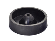 """3"""" Inch 80 mm Rubber Sprue Base Jewellery Lost Wax Casting Flask Ring Tree C Style"""