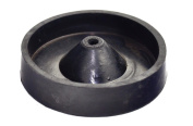 """4"""" Inch 100 mm Rubber Sprue Base Jewellery Lost Wax Casting Flask Ring Tree C Style"""