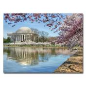 Trademark Art CATeyes Jefferson Memorial Canvas Art