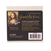 Speedball Mona Lisa 10cm -by-10cm Gessoed Art Board