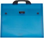 Dekko A4 Electric Blue File, 36cm by 46cm