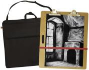 Pro Art 50cm -by-50cm Portfolio with 46cm -by-46cm Sketch Board