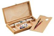 Alvin & Co. HWB146 WOOD SKETCH BOX SML