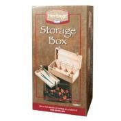 Heritage Elmwood Art Supply Storage Box