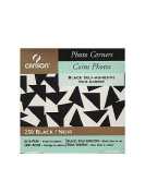 Canson Self Adhesive Photo Corners black [PACK OF 4 ]