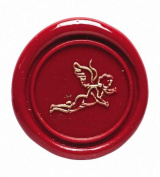 J. Herbin H404/66 Angel Brass Seal 1.7cm D For Use With Sealing Wax
