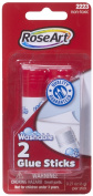 RoseArt Washable Glue Sticks, 2-Count, Packaging May Vary