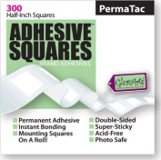 Adhesive SquaresTM Brand Adhesives-PermaTac 300 ct roll