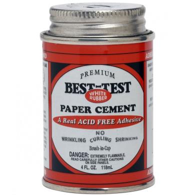 Premium Best-Test Rubber Paper Cement-120ml