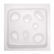 Resin Epoxy Mould For Jewellery Casting - Assorted Natural Stone Shapes