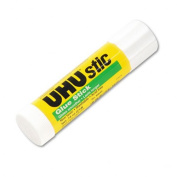 UHU Stic Permanent Clear Application Glue Stick, .2190ml
