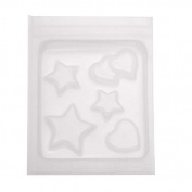 Resin Epoxy Mould For Jewellery Casting - Heart And Star Shapes