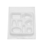 Resin Epoxy Mould For Jewellery Casting - 8 Assorted Jewels