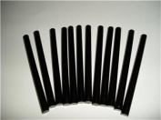 Black Faux Wax Glue Stick mini X 10cm 12 sticks