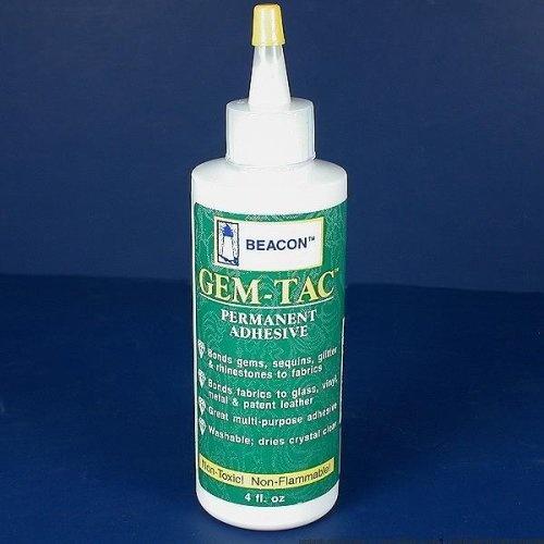 Gem-Tac Permanent Adhesive Glue Cement For Rhinestones