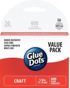Glue Dots School Value Pack 1.3cm Craft Dots