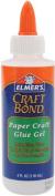 Elmers Craft Bond Paper Craft Glue Gel-120mls