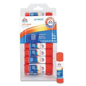 Elmer's All-Purpose Glue Sticks, Repositionable Stick, 5ml, 24 per Pack