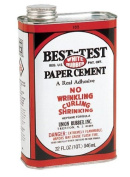 Best-Test White Rubber Paper Cement, 0.9l