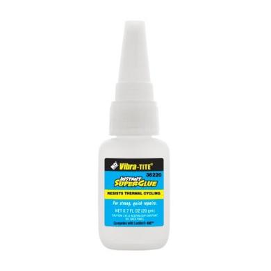 Vibra-TITE 362 General Purpose Instant Superglue: Gap Filling-Thermal Cycling - 20 gm bottle